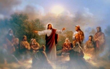 Jesus ans disciples