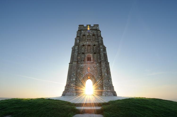 Turnul Arhanghelului Mihail la Glastonbury